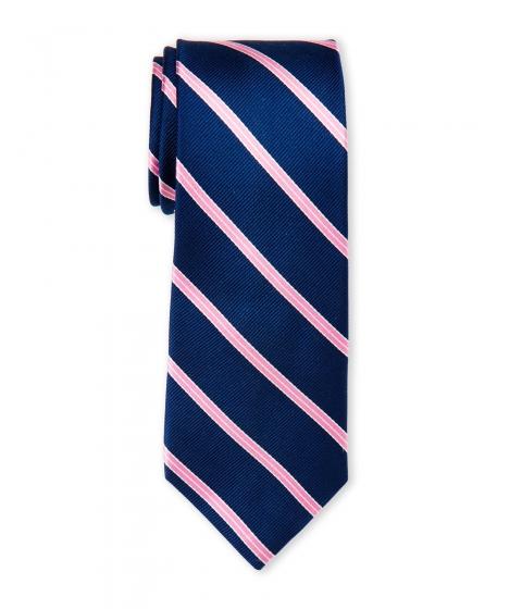 Accesorii Barbati Pierre Cardin Silk Stripe Slim Tie Pink