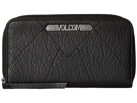 Genti Femei Volcom Pinky Swear Zip Wallet Black