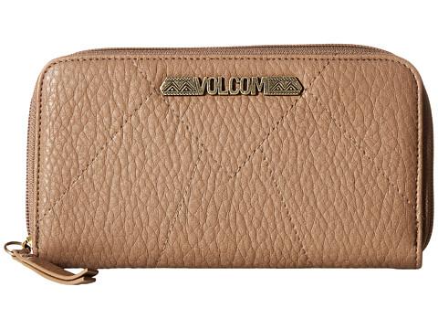 Genti Femei Volcom Pinky Swear Zip Wallet Vintage Brown