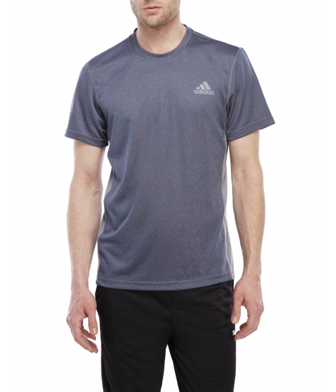 Imbracaminte Barbati adidas Elevated Perforated Tee Collegiategreynvy