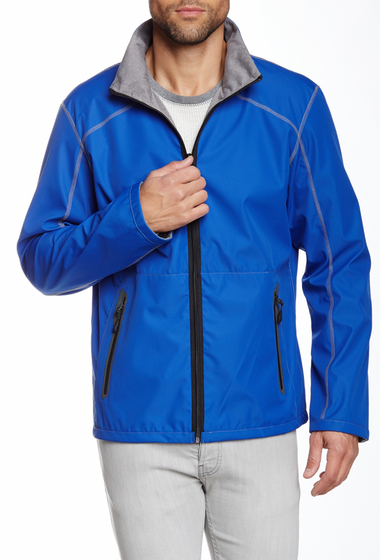 Imbracaminte Barbati Point Zero Reversible Jacket Cobalt