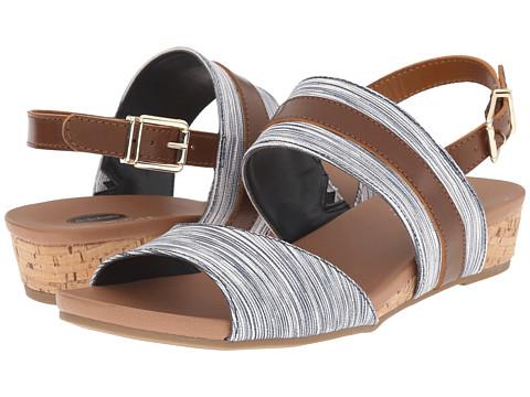 Incaltaminte Femei Dr Scholl's Minka NavyDark Saddle Harmony Stripe