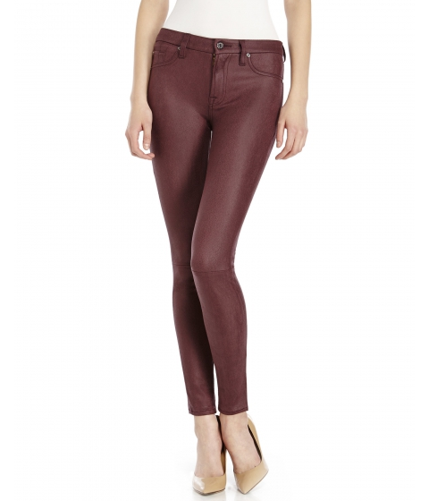Imbracaminte Femei 7 For All Mankind Plum Crackle Pants Bucl