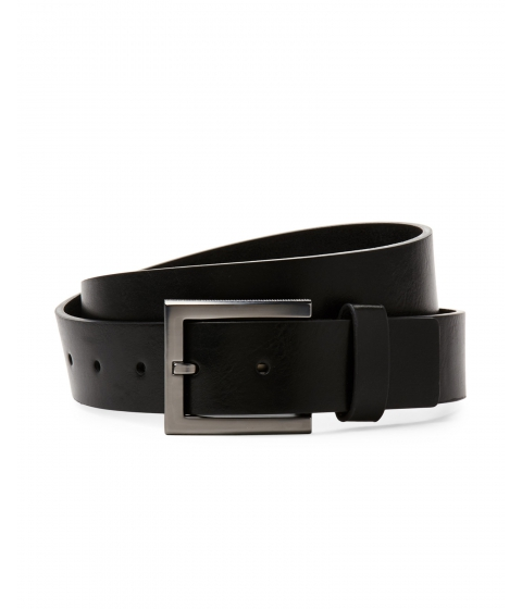Accesorii Barbati Kenneth Cole Reaction Textured Buckle Belt Black