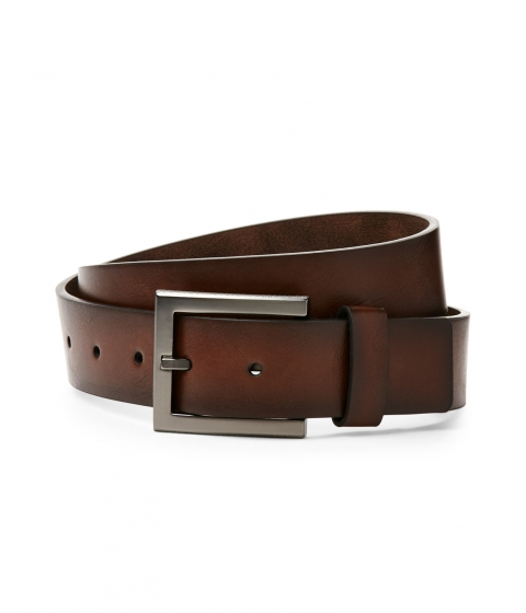 Accesorii Barbati Kenneth Cole Reaction Textured Buckle Belt Brown