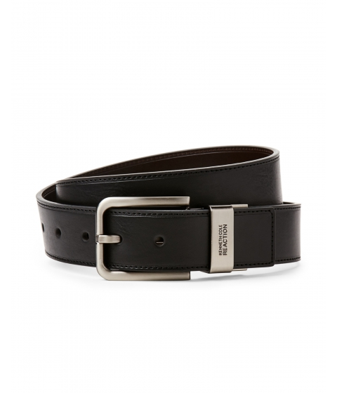 Accesorii Barbati Kenneth Cole Reaction Black Brown Reversible Belt Black Brown