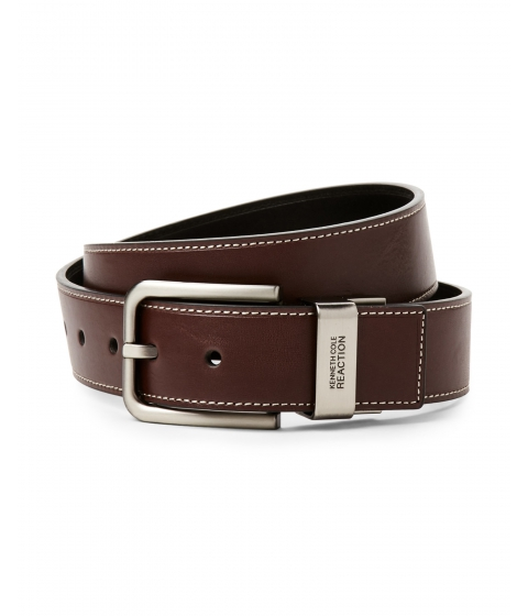 Accesorii Barbati Kenneth Cole Reaction Black Brown Reversible Belt Brown
