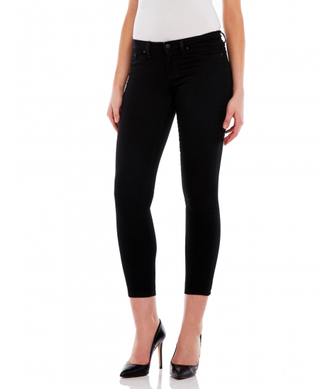 Imbracaminte Femei Jessica Simpson Black Kiss Me Super Skinny Cropped Jeans Black