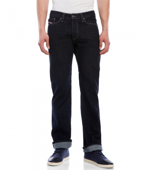 Imbracaminte Barbati Diesel Viker Regular-Straight Jeans Dark Wash