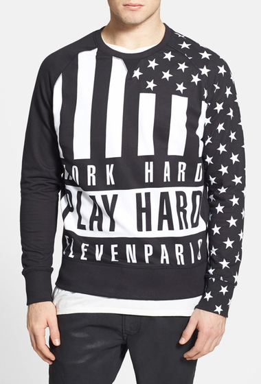 Imbracaminte Barbati ELEVENPARIS Fix Tarental Sweatshirt Black