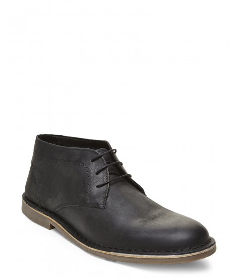 Incaltaminte Barbati Kenneth Cole Reaction Black Leather Desert Island Boots Black