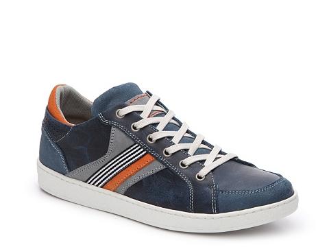 Incaltaminte Barbati Bullboxer Bredo Sneaker Navy BlueGreyOrange