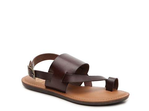 Incaltaminte Femei Crown Vintage Dottie Flat Sandal Brown