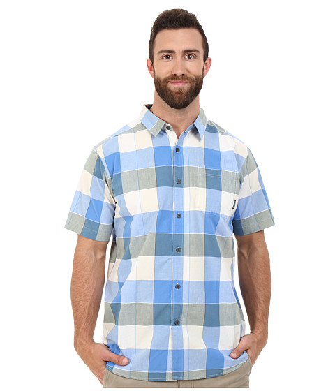 Imbracaminte Barbati Columbia Plus Size Thompson Hilltrade II Yarn Dye Shirt Blue Sky Large Plaid