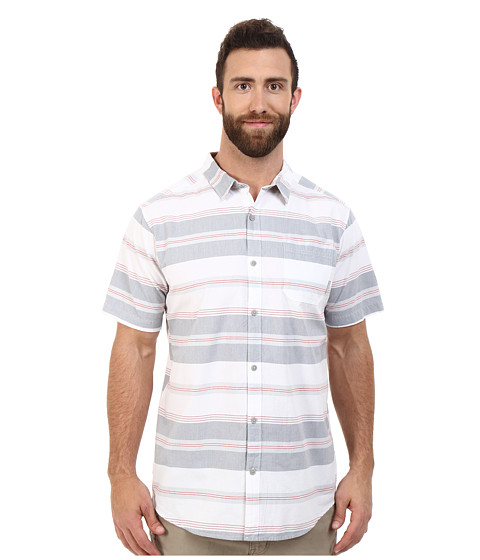 Imbracaminte Barbati Columbia Plus Size Thompson Hilltrade II Yarn Dye Shirt Grey Ash Stripe