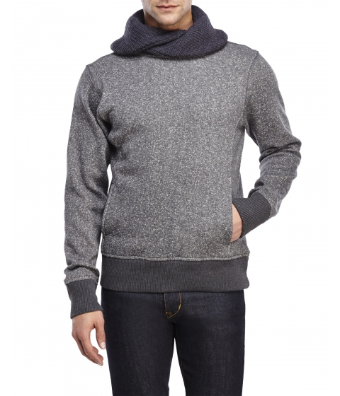 Imbracaminte Barbati American Stitch Cowl Neck Sweater Dkgrey