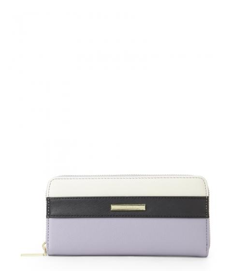 Genti Femei Anne Klein Lilac Black Pretty In Pink Zip Wallet Lilac Black