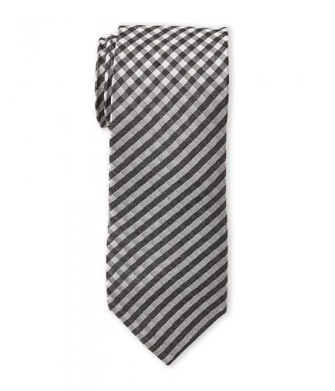 Accesorii Barbati Ben Sherman Gingham Silk Tie Black