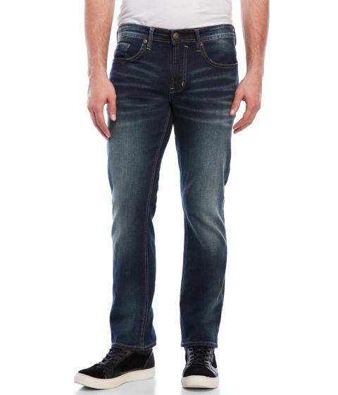 Imbracaminte Barbati Buffalo David Bitton Evan-X Basic Slim Jeans Dark Contrasted