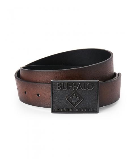 Accesorii Barbati Buffalo David Bitton Reversible Plaque Buckle Belt Brown Black