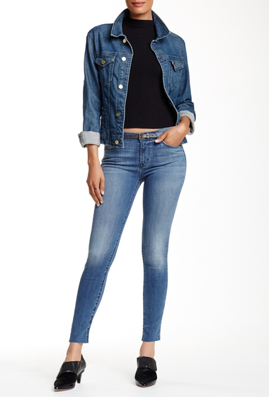 Imbracaminte Femei HUDSON Jeans Nico Mid Rise Super Skinny Ankle Jean SUMMERLAND