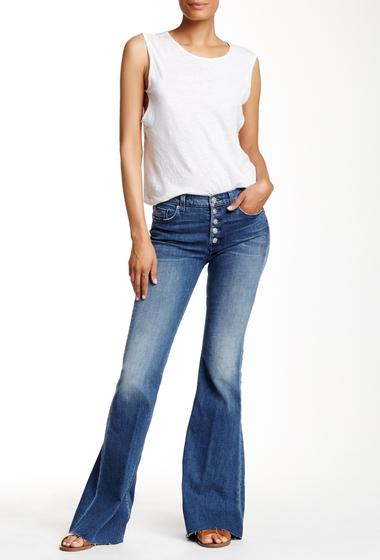 Imbracaminte Femei HUDSON Jeans Jodi High Waist Flare Jean BLOCKADE