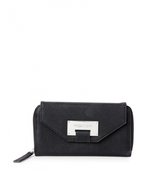 Genti Femei Kenneth Cole Reaction Black NoHo Ziparound Flap Wallet Black
