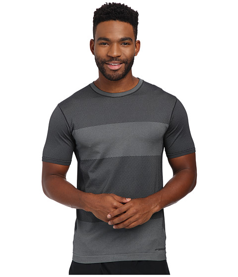 Imbracaminte Barbati Brooks Streaker Short Sleeve Top Heather Black