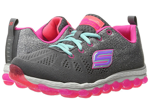 Incaltaminte Fete SKECHERS Skech Air Ultra 80035L (Little KidBig Kid) CharcoalNeon Pink