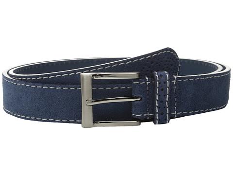 Accesorii Barbati Florsheim 32mm Suede Leather Belt Navy