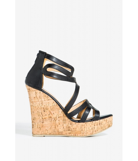 Incaltaminte Femei CheapChic Miami-1 Chic By Night Wedge Black