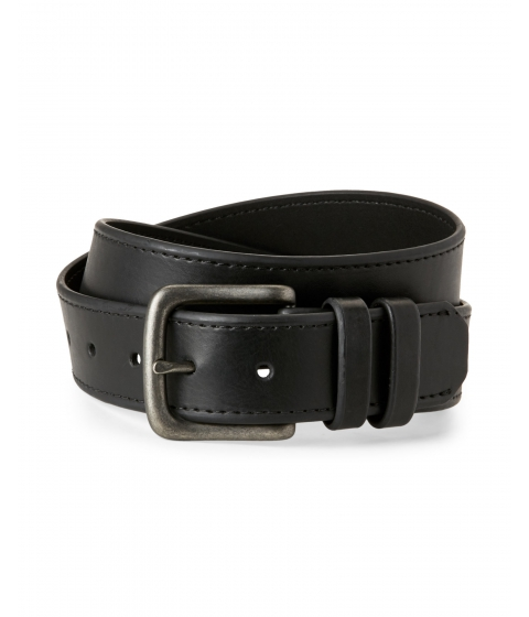 Accesorii Barbati Levi's Black Bonded Leather Belt Black