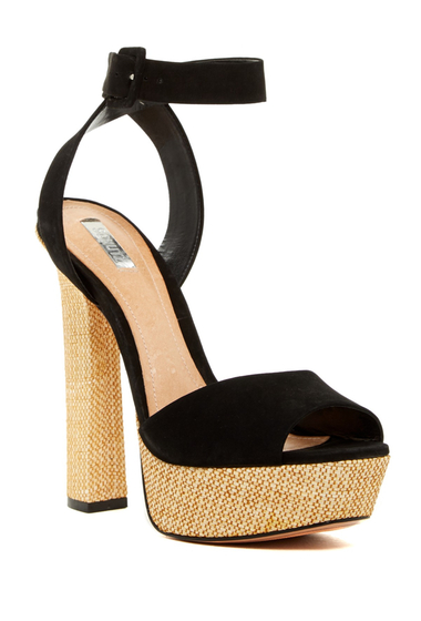 Incaltaminte Femei Schutz Amatista Platform Sandal BLACK