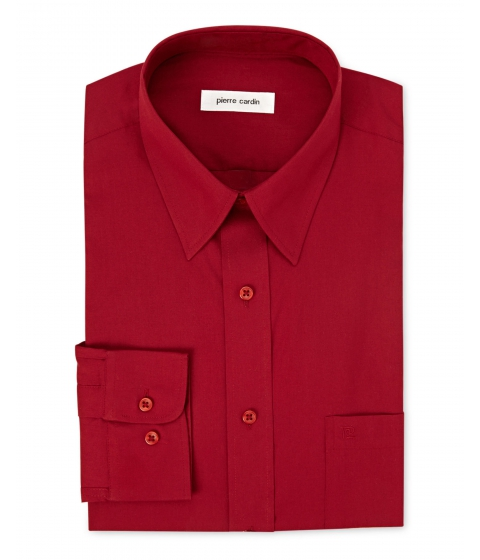 Imbracaminte Barbati Pierre Cardin Crimson Dress Shirt Crimson