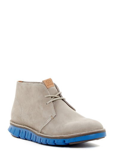 Incaltaminte Barbati Cole Haan Zerogrand Stitch Out Chukka Boot SLVR MIST SDE