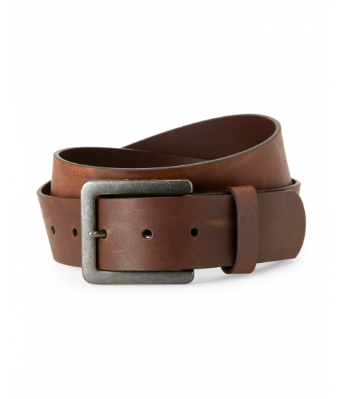 Accesorii Barbati Levi's Oversize Buckle Bonded Leather Belt Brown