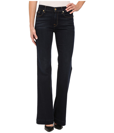 Imbracaminte Femei 7 For All Mankind Ginger w Press Crease in Slim Illusion Dark Madrid Night Slim Illusion Dark Madrid Night