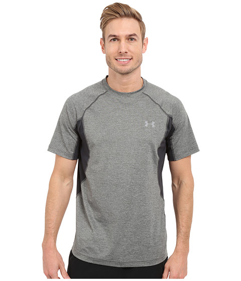 Imbracaminte Barbati Under Armour UA Coolswitch Trail Short Sleeve Granite