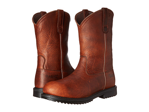 Incaltaminte Barbati Ariat Rigtek Pull-On Oiled Brown