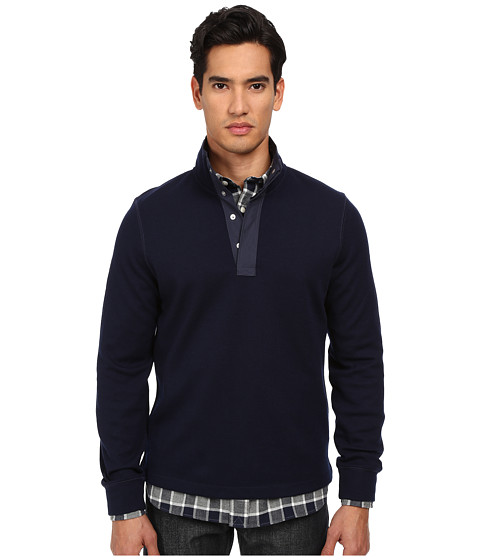 Imbracaminte Barbati Jack Spade Bayfield Half Button Pullover Jack Navy