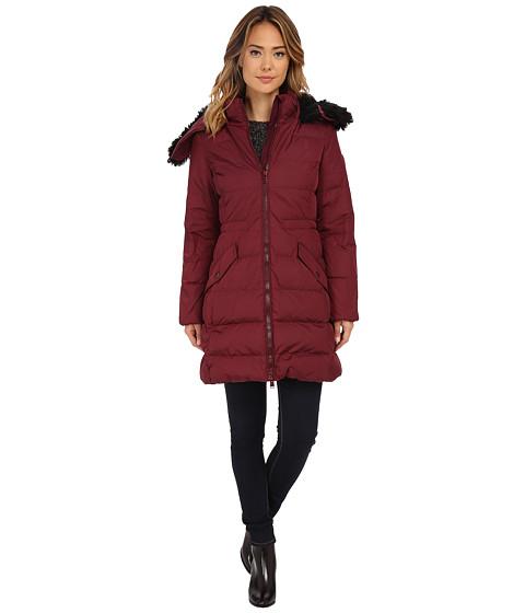 Imbracaminte Femei COACH Long Down Coat Burgundy