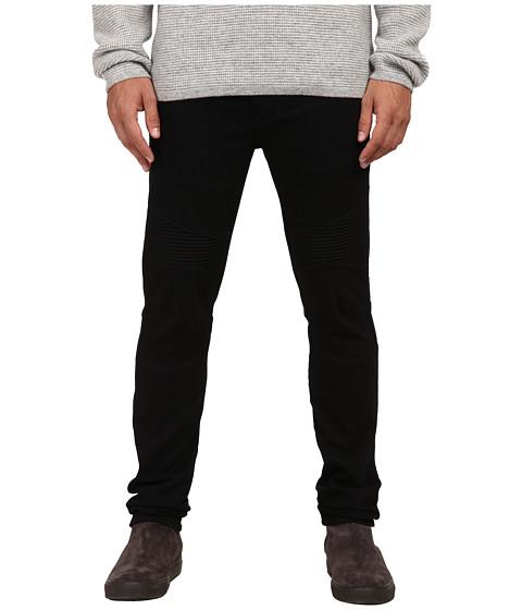Imbracaminte Barbati Vince Black Moto Pintuck Jeans Bleeker St