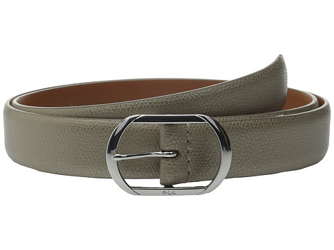 Accesorii Femei LAUREN Ralph Lauren Whitby 1 18quot Leather Centerbar Silver Mink