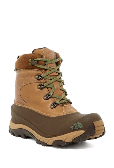 Incaltaminte Barbati The North Face Chilkat II Luxe Boot UTILITY BRWN-BEETLE GREEN