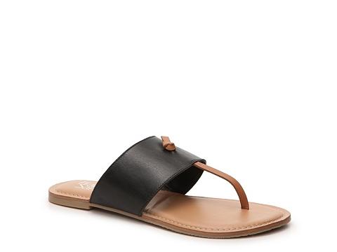 Incaltaminte Femei Franco Sarto Jabari Flat Sandal BlackTan