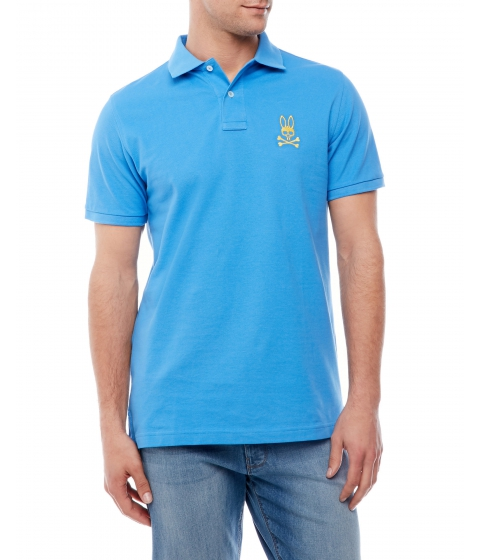 Imbracaminte Barbati Psycho Bunny Short Sleeve Embroidered Polo Lark Spur