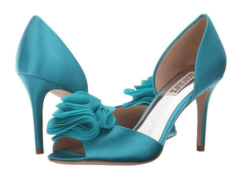 Incaltaminte Femei Badgley Mischka Amaze Turquoise Satin