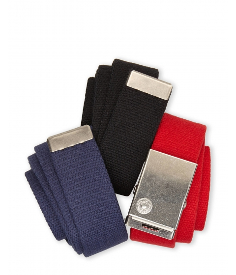 Accesorii Barbati Levi's 3-Pack Cut-To-Fit Belts Black Navy Red