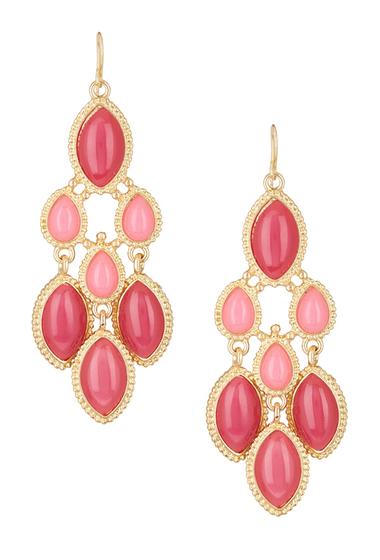 Bijuterii Femei Natasha Accessories Chandelier Earrings PINK