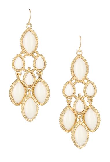 Bijuterii Femei Natasha Accessories Chandelier Earrings WHITE